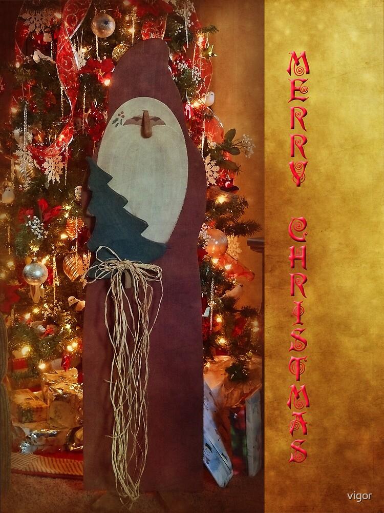 Merry Christmas card by vigor