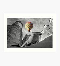 Hot Air Balloons Over Capadoccia Turkey - 10 Art Print