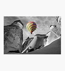 Hot Air Balloons Over Capadoccia Turkey - 10 Photographic Print