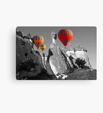 Hot Air Balloons Over Capadoccia Turkey - 11 Canvas Print