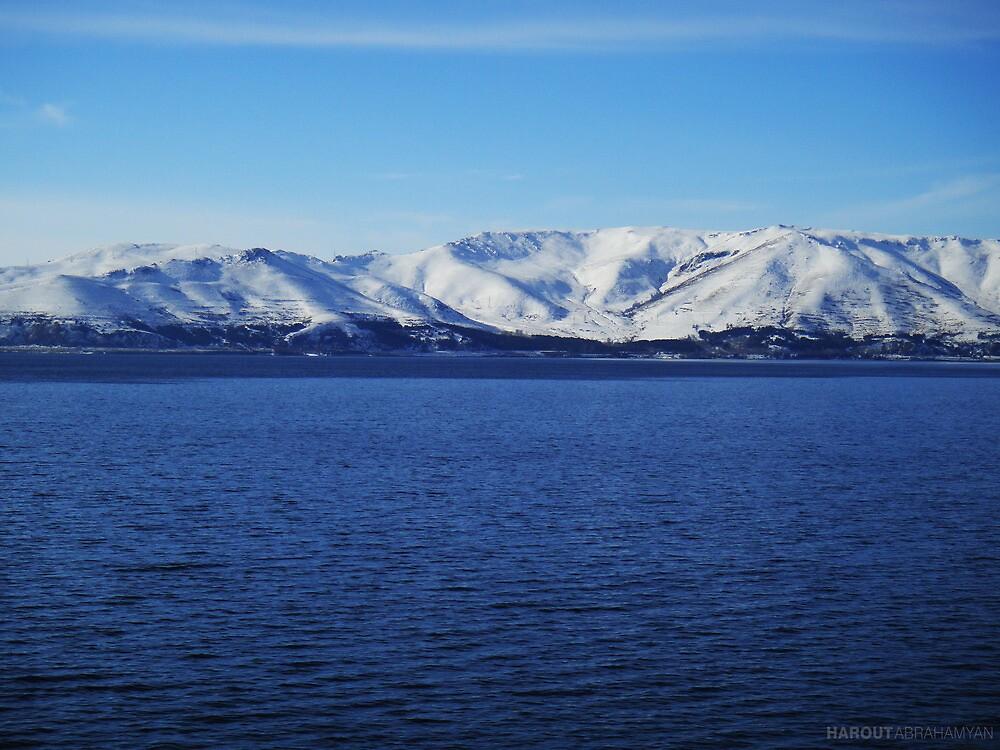 Lake Sevan by Harout Abrahamyan