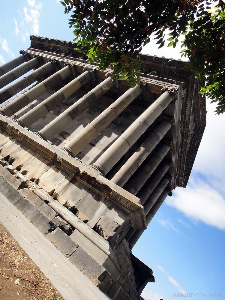 Garni Temple by Harout Abrahamyan
