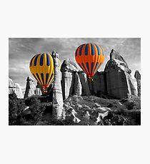 Hot Air Balloons Over Capadoccia Turkey - 12 Photographic Print