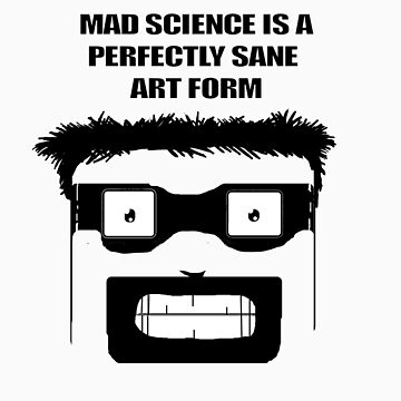 Mad Science Art by GrimGary