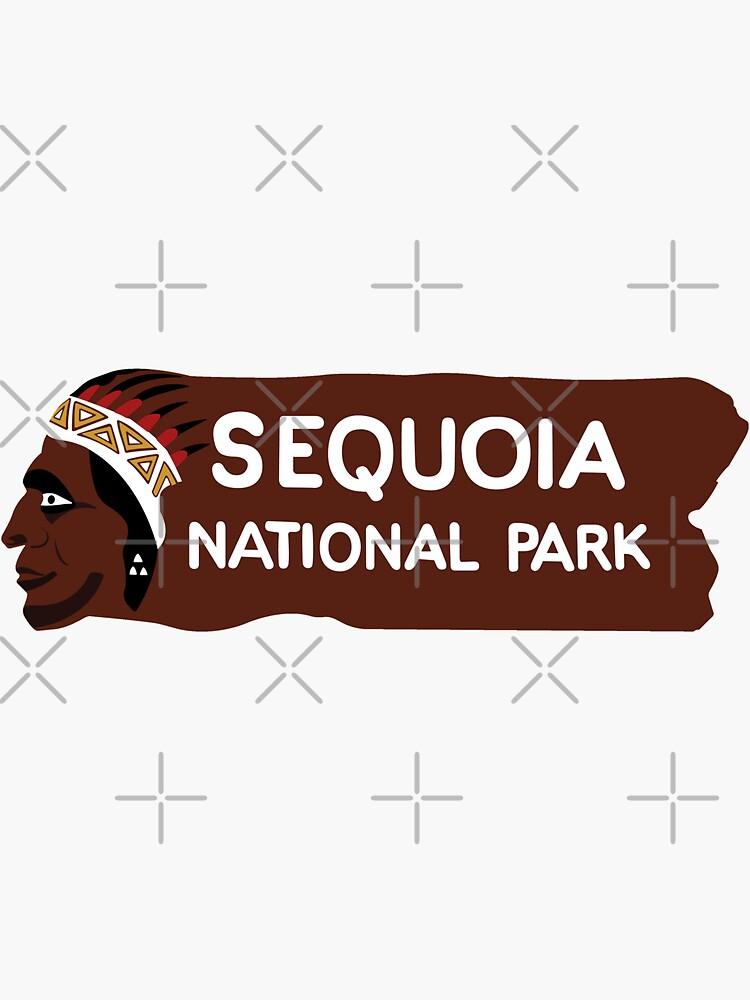 Sequoia-Nationalpark-Eingangs-Zeichen, Kalifornien, USA von worldofsigns