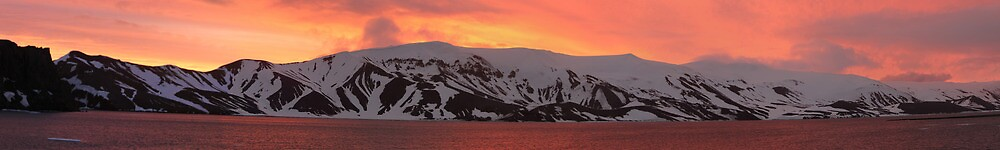 Deception Island Antarctica - Before the storm by Keith O'Brien