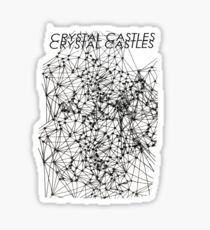 Crystal Castles Crimewave Shirt Sticker