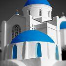 'Blue Domes' - Greek Orthodox Churches of the Greek Cyclades Islands by Paul Williams