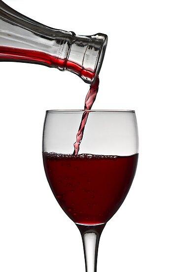 Red Wine by Gert Lavsen