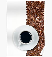 Coffee Flag Poster