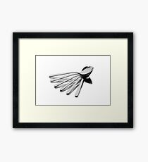 Spoon Fan Framed Print