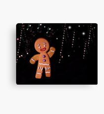 Gingy Canvas Print