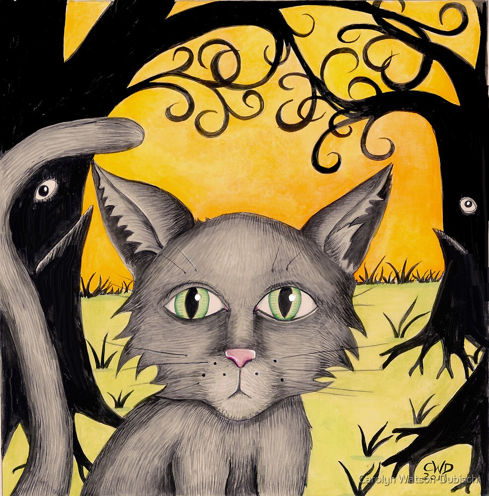 """Remus the cat from """"The Horribles"""" by Carolyn Watson-Dubisch"""