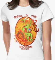 Year Of The Dragon-2012 Womens Fitted T-Shirt