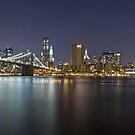 Manhattan At Night Panorama 2 by BlackRussian