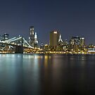 Manhattan at Night Panorama 3 by BlackRussian