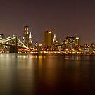 Manhattan at Night Panorama 4 by BlackRussian
