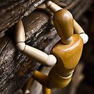 wooden man climbing bran 02 by cadman101