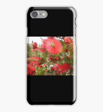 RED FLOWERS. iPhone Case/Skin