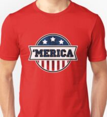 'MERICA T-Shirt. America. Jesus. Freedom. - The Campaign T-Shirt
