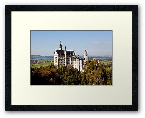 Neuschwanstein Castle  by robyngourley