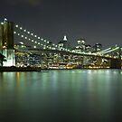Brooklyn Bridge at Night 6 by BlackRussian