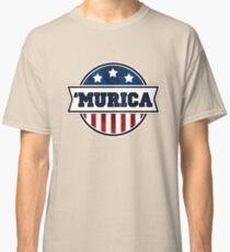 'MURICA T-Shirt. America. Jesus. Freedom. - The Campaign Classic T-Shirt