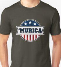 'MURICA T-Shirt. America. Jesus. Freedom. - The Campaign Unisex T-Shirt