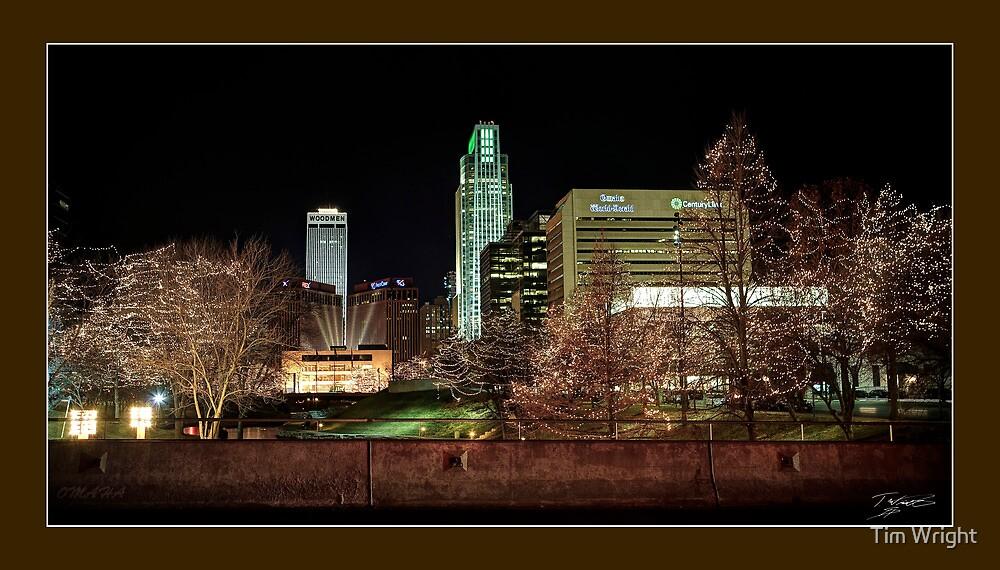 Downtown Omaha, Nebraska by Tim Wright