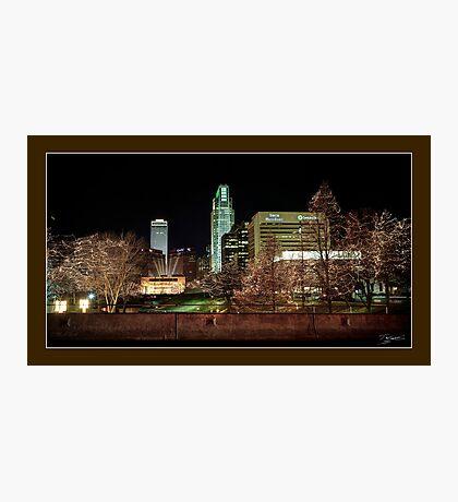 Downtown Omaha, Nebraska Photographic Print