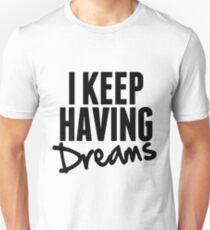 I Keep Having Dreams - Frank Turner Lyrics T-Shirt Unisex T-Shirt