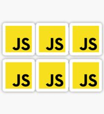 Javascript logo 6x Sticker