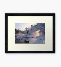 Good Morning Sun Framed Print