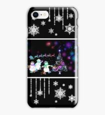 MERRY CHRISTMAS! WINTER DESIGN! iPhone Case/Skin
