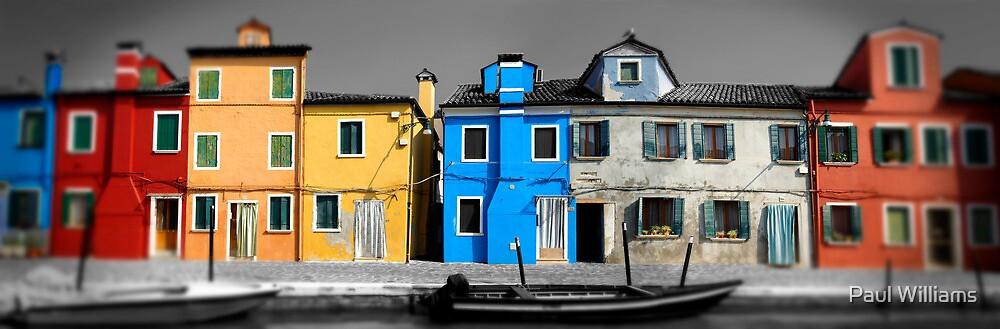 Burano, Venice Italy - 2 by Paul Williams
