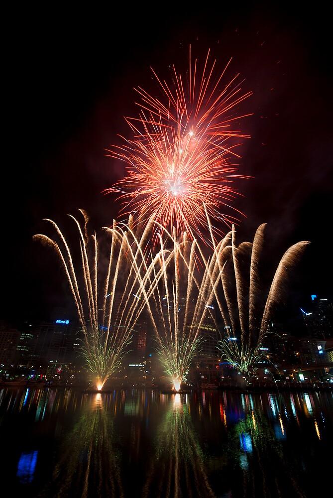 Fireworks by nigelhowe
