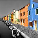 Burano, Venice Italy - 3 by Paul Williams