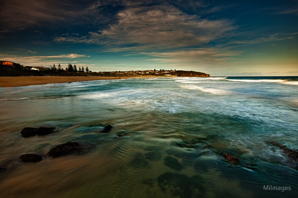 South Curl Curl Beach NSW by MiImages