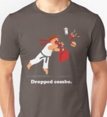 Dropped Combo Slim Fit T-Shirt