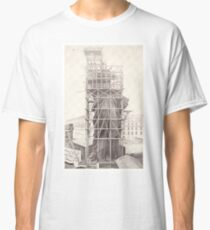 Camiseta clásica Construction of The Statue of Liberty