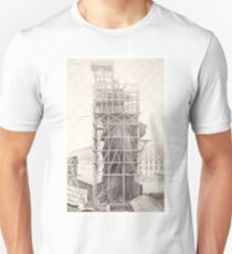 Construction of The Statue of Liberty T-Shirt