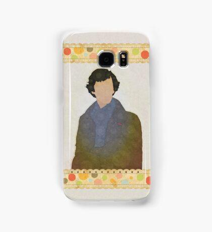 Shabby Sherlock Samsung Galaxy Case/Skin