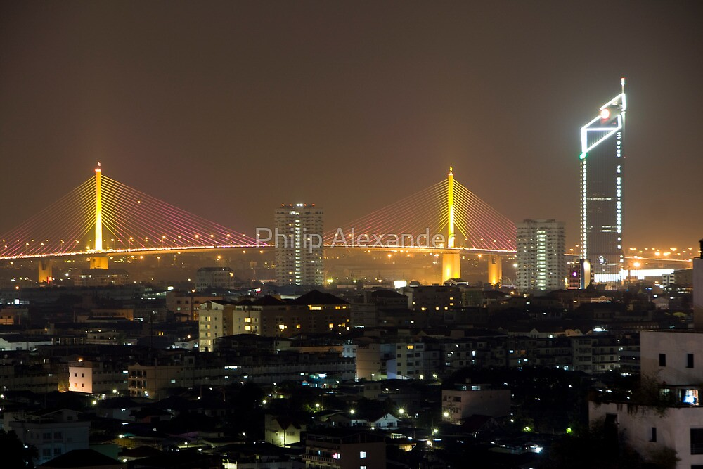 Bangkok Bridge by Philip Alexander