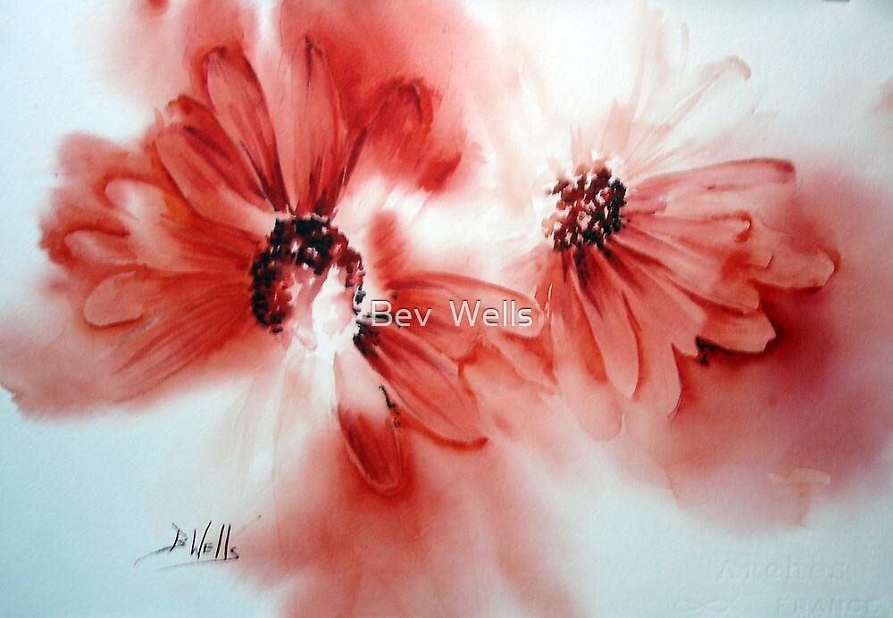 Flower Friends by Bev  Wells