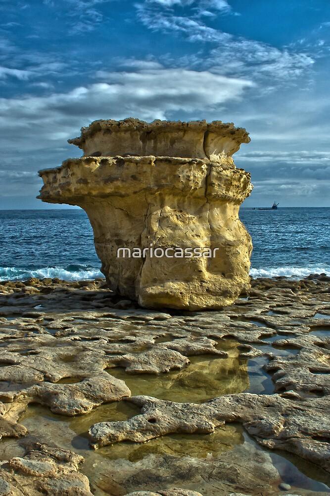Salt Erosion by Mario Cassar