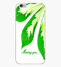 Missing you... iPhone Case