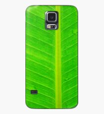 Banana green leaf - case Case/Skin for Samsung Galaxy