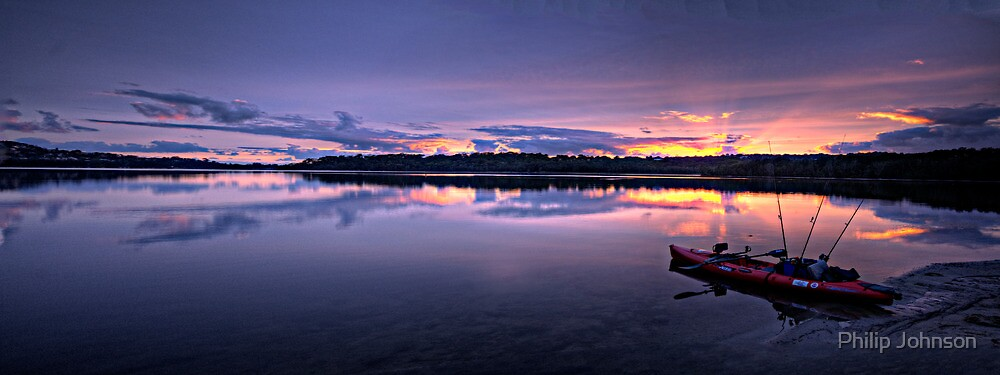 At Rest - Narrabeen Lakes, Sydney,Australia - The HDR Experience by Philip Johnson