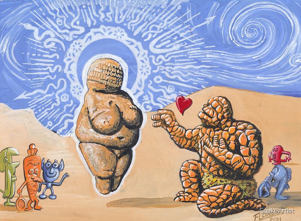 Heart of Stone by SnakeArtist