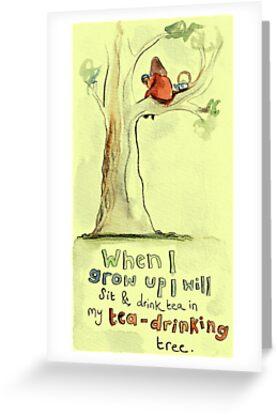 My Tea-Drinking Tree by Jo Bradshaw